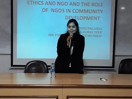 CSR Talk : Ethics & NGO's