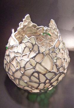 11 - Sea Glass Globe