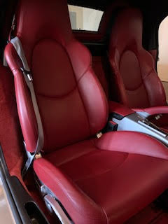 Leather seats clean and protection