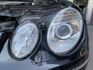 MB Headlight Restoration