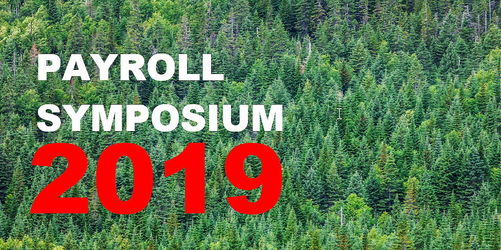 Payroll Symposium 2019