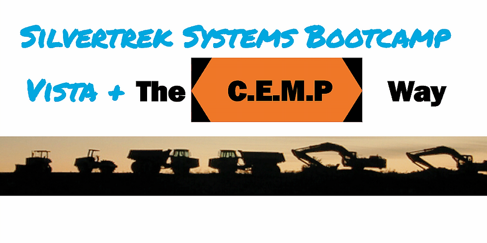 The CEMP Way in Vista - Equipment Bootcamp