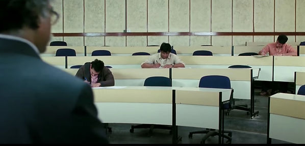 Exam stress, All is well, 3 idiots