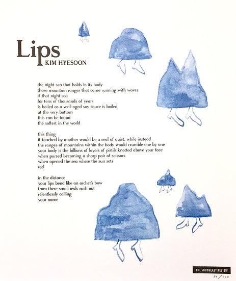 """""""Lips"""" by Kim Hyesoon"""