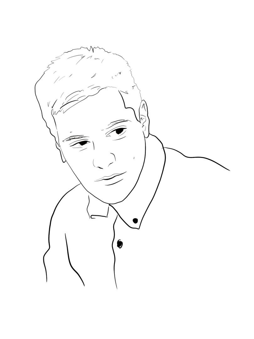 Aram Mrjoian Sketch