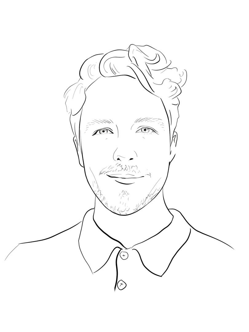 Zach Linge Sketch