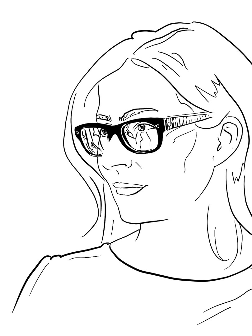 Karen Tucker Sketch