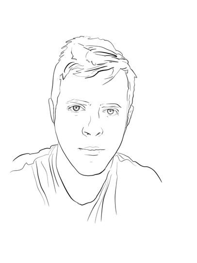 Paul Hansen Sketch