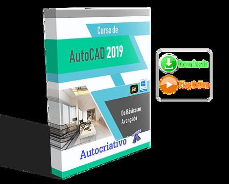 Curso de AutoCAD 2019 Do Básico ao Avançado (Promoção) BF