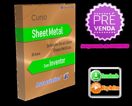 Curso de Sheet Metal com Inventor (Promoção) BF