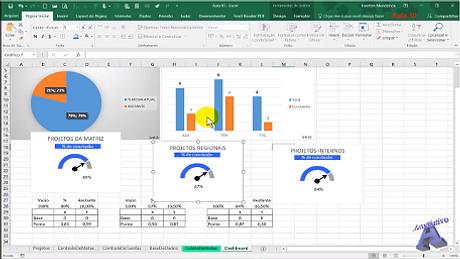 Imagens do Curso de Excel módulo 4 - Autocriativo
