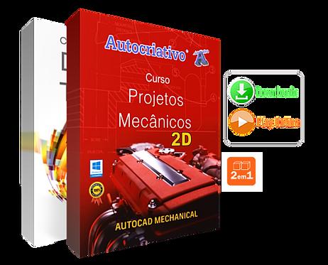 Kit Mecânica 2D ( Promoção 2 em 1)