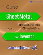 Cursos de Sheet Metal com Inventor