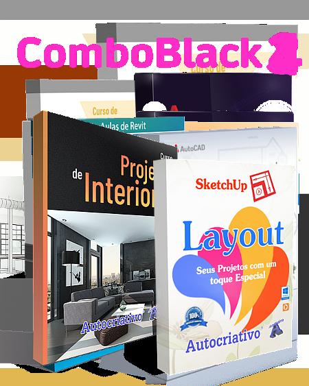 Combo 4 - Curso de Projetos de Interiores + Curso de LayOut