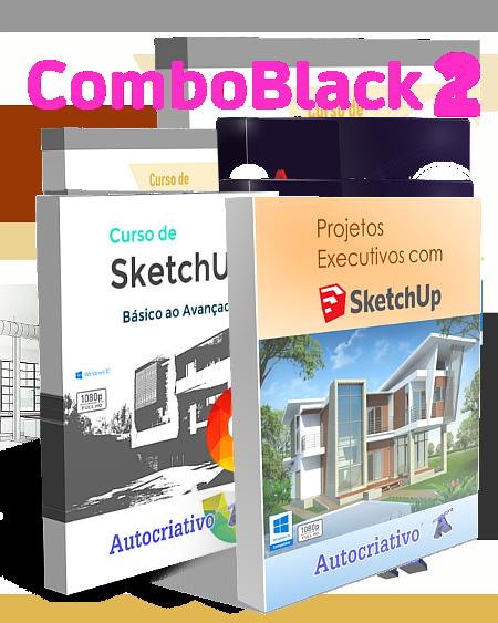 Combo 2 - Curso de SketchUp 2020 + Curso de Projetos Executivos