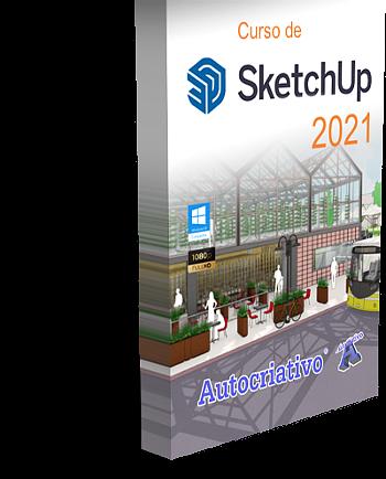 Curso de SketchUp 2021 - Básico ao Avançado (Lançamento)