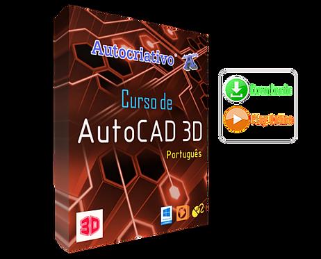 Curso de AutoCAD 3D Port. ( Versão 2017 )
