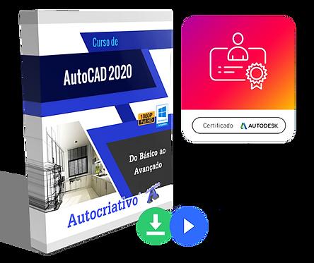 Curso de AutoCAD 2020 - Do Básico ao Avançado (Promoção) BF