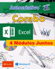 4 Cursos de Excel = R$ 115,00 Com + R$ 5,00 você leva os Cursos de PowerPoint e MS Word