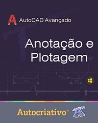 Curso de AutoCAD 2021 = R$ 115,00 Com + R$ 5,00 você leva o Curso de Anotação e Plotagem!