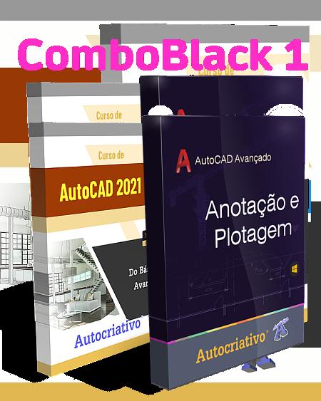 Combo 1 - Curso de AutoCAD 2021 + Curso de Anotação e Plotagem