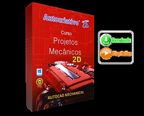 Curso de Projetos Mecânicos ( 2D ) - AutoCAD Mecânico