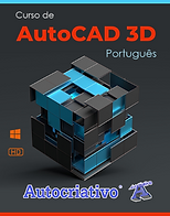 Curso de AutoCAD 2021 = R$ 115,00 Com + R$ 20,00 você leva o Curso de AutoCAD 3D - 2021 !