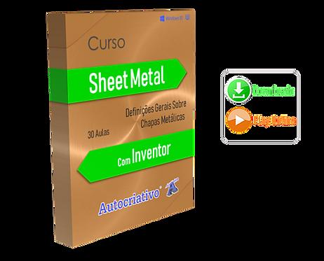 Curso de Sheet Metal com Inventor BF