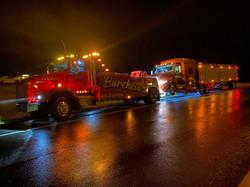 24 hour semi tow truck