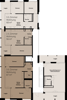 Haus C Erdgeschoss
