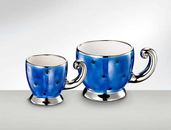 Tasse lazuliblau