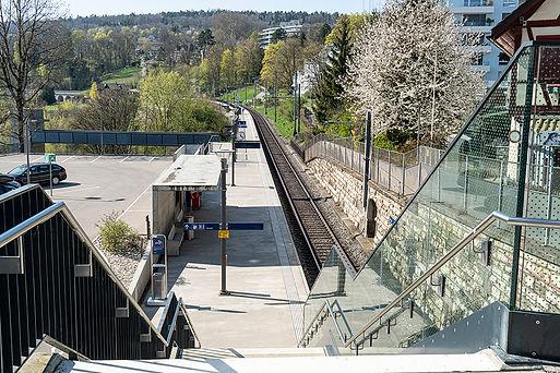 Franziska Brenn, Bahnhof, Neuhausen am Rheinfall