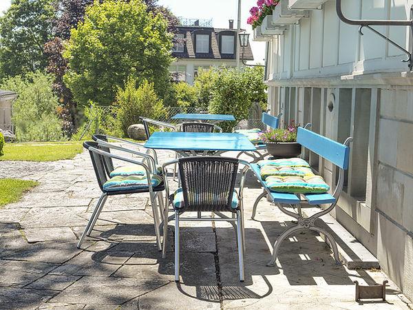 Pension Alpenheim Teufen, Garten, Sitzplatz
