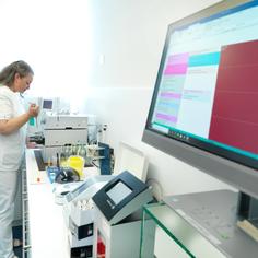 breitgefächerte Labortests