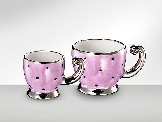 Tasse lavendelrosa