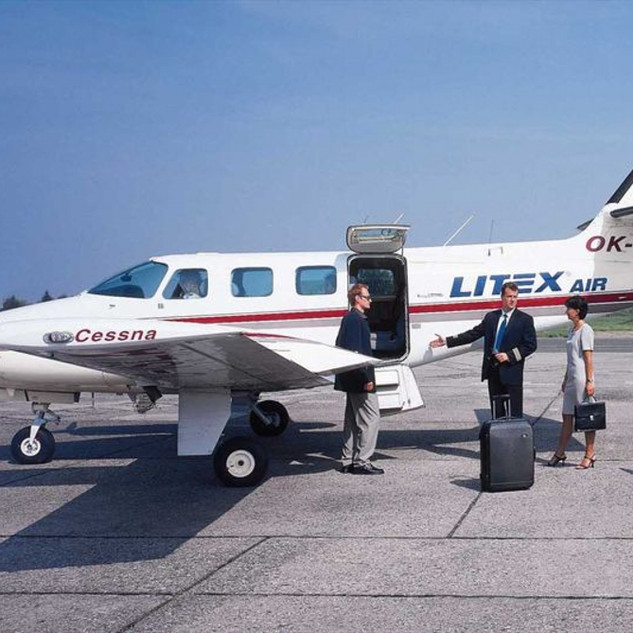 Cessna T303 OK-LIT
