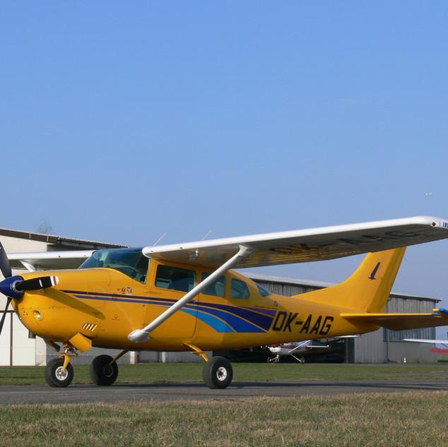 Cessna TU206G OK-AAG