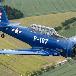 North American T-6 N3012Y