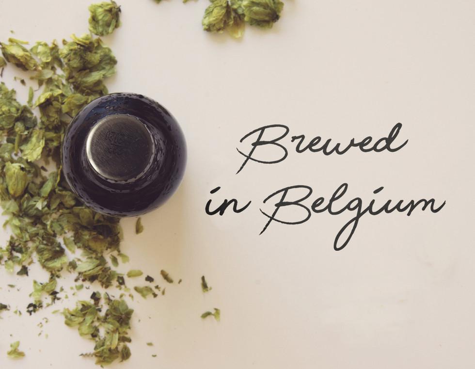 Brewed in Belgium