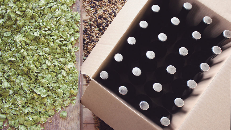 BOX OF MIXED BEERS - 24X33CL