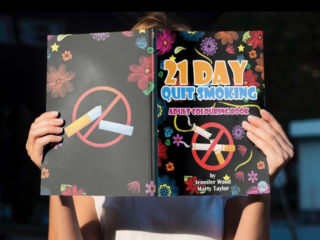 Why You Should Buy a 21 Day Quit Smoking - Adult Colouring Book when Quitting Smoking?