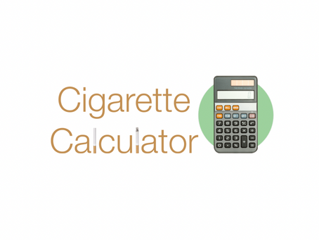THE NEW QUIT SMOKING CALCULATOR IS HERE!