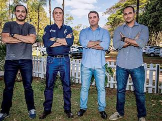 As falcatruas do clã Bolsonaro