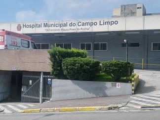 Ato contra a terceirização do Hospital Municipal do Campo Limpo