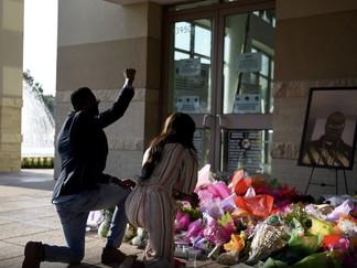 George Floyd é enterrado como símbolo da luta mundial contra racismo