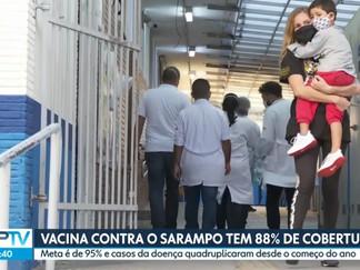 Casos de sarampo em SP dobram em um mês e médicos alertam para importância da vacinação