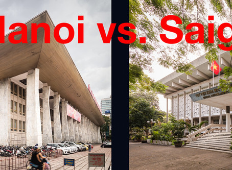 A Tale of Two Cities: Hanoi vs. Saigon