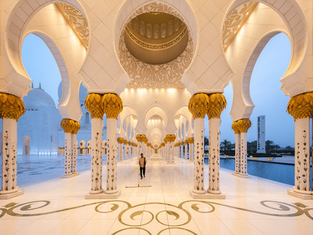 [Finally!] Exploring the United Arab Emirates (Part 1, Abu Dhabi)