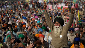Proteste contadine India