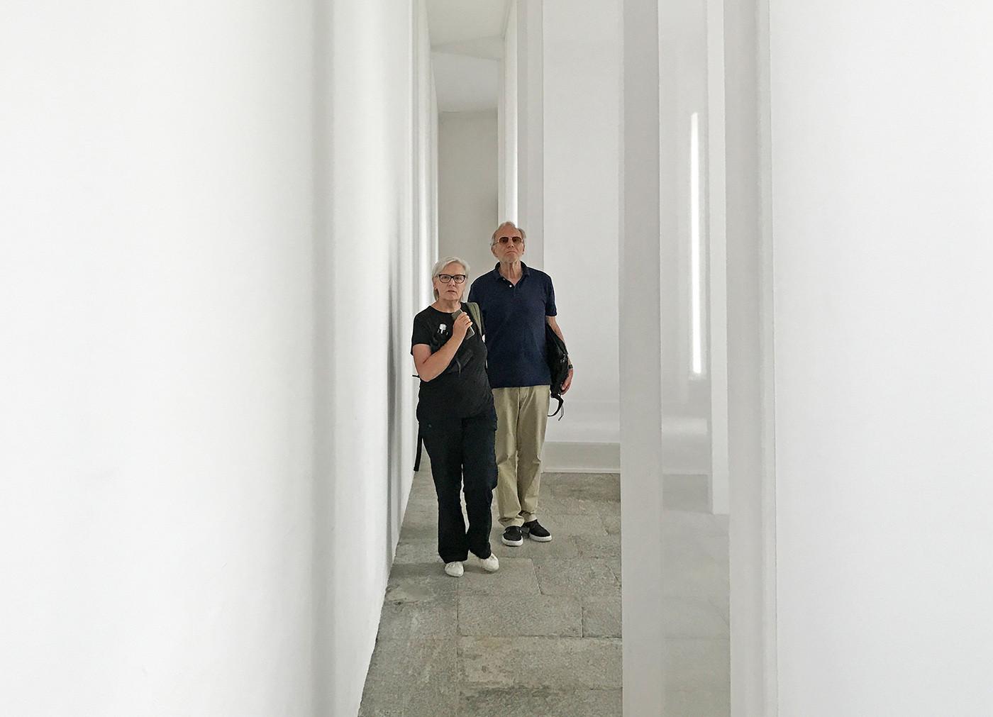 Aisthesis by Robert Irwin, Villa Panza, Varese